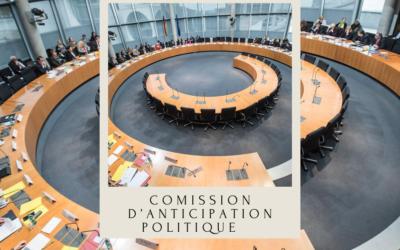 Commission anticipation politique